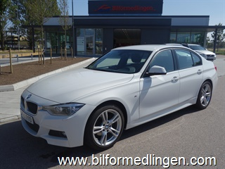BMW 320 d Sedan, F30 190hk M Sport Aut Connected Drive Drag Momsbil Svensksåld 2016