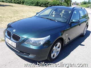 BMW 530 d Touring xdrive 235hk Aut Head up Navi Skinn Dragkrok 2009