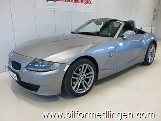 BMW Z4 2.5i 177hk Aut. Roadster Cab Skinn Advantage