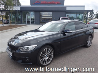 BMW 435 i xDrive Gran Coupé, F36 306hk M Sport Aut Navi Connected Drive Drag Skinn 2015