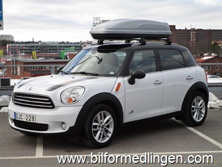 Mini Countryman Cooper D 2.0 ALL4  112hk Chili, Automat, Svensksåld