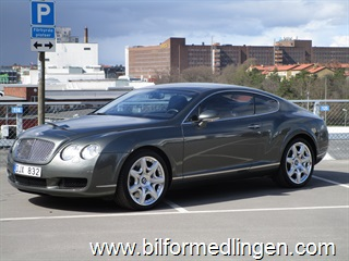 Bentley Continental II GT 6.0 Coupé 4WD 559hk 2007