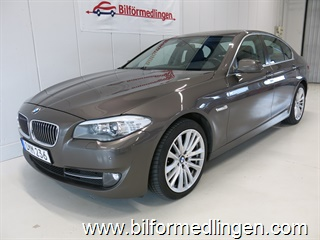 BMW 525 d 3.0 204hk Navi Dragkrok Skinn Head-up Vinterhjul m.m 2011