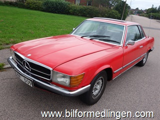 Mercedes-Benz SLC 350 Coupé Svensksåld 1973