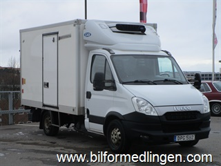 Iveco Daily 35 CNG Bensin/Gas Bakgavellyft 2013