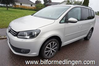 Volkswagen Touran 1.6 TDI BlueMotion 7-Sits Technology 105hk Svensksåld Drag