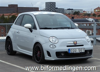 Fiat 500 Abarth Turbo 135hk 2008