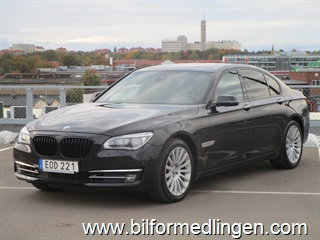 BMW 740 d xDrive Sedan, F01 313hk Comfort, Navigation, Connected Drive