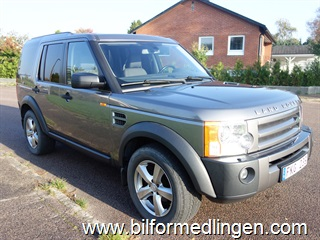 Land Rover Discovery 3 2.7 TDV6 190hk Aut Dragkrok 2007