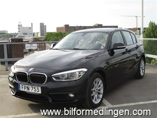 BMW 118 d xDrive 5dr, F20 150hk Advantage 2016