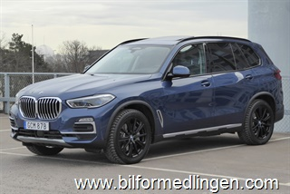 BMW X5 xDrive 45e Innovation 130 mil! Momsbil 2020
