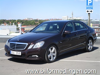 Mercedes-Benz E 350 CGI BlueEFFICIENCY 292hk Svensksåld Avantgarde