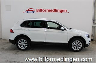 Volkswagen Tiguan 2.0 TDI 4MOTION 190Hk Aut Executive Dragpaket 2017