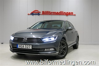 Volkswagen Passat GTS 2.0 TDI Aut. 240hk 4Motion Executive Navi Sv-Såld Apple carplay m.m 2016