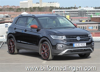 Volkswagen T-Cross 1.0 TSI 115hk Climatronic, Vinter, Lights & Vision, Composition Media, Non-Smoker 2020
