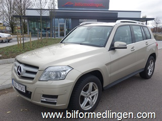 Mercedes-Benz GLK 350 CDI Aut 4MATIC 231hk Comand Backkamera Skinn 2011