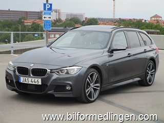 BMW 340 i xDrive Touring, F31 326hk M-Sport, Connected Drive 2017