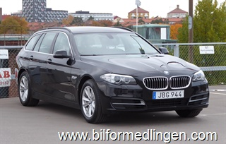 BMW 530 d xDrive Touring Läder Dragkrok 2015