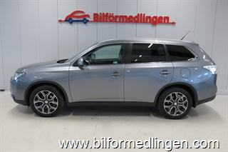 Mitsubishi Outlander 2.2 Di-D 150hk 4WD 7-sits Business Drag Skinn Aut. 1 ägare 2014