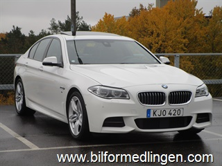 BMW 530 d xDrive M Sport Innovation Svensksåld 1 ägare 2016