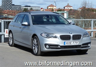 BMW 530 d xDrive Touring, F11 258hk 2015
