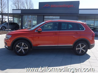 Volkswagen Tiguan 2.0 TDI 4MOTION 190hk DSG Momsbil Executive Drag Dynamic Light Assist Svensksåld 1 Ägare 2017
