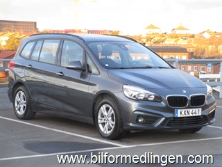 BMW 218 d Gran Tourer, F46 150hk Advantage, 7-sits 2016