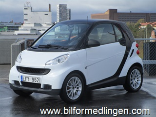 Smart fortwo Fortwo II 1.0 mhd Coupé 61hk 2011