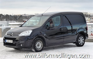 Citroën Berlingo 1.6 BlueHDi Skåp 100hk 2017