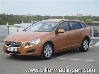 Volvo V60 1.6D DRIVe 115hk Kinetic, Intelligent Driver Information System, City Safety 2, Clean Zone 2011