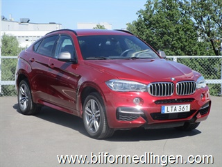 BMW X6 M50d M-sport Innovation Pack Svensksåld 2015