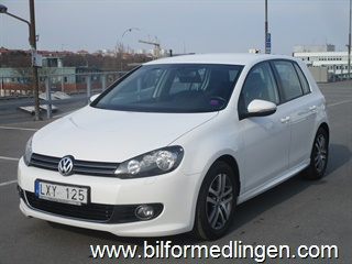 Volkswagen Golf VI GT 2.0 TDI 5dr 140hk Design, Style, Masters, Rear Assist 2012