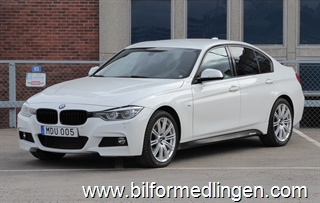 BMW 320 d xDrive Sedan M Performance Drag Leasbar 2016