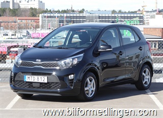 Kia Picanto 1.0 5dr 67hk GLS Advance Plus Leasbar 2018