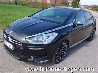 Citroën DS5 HYBRID4 160hk 4WD Airdream Automat Head up display Navi Webasto Backkamera Skinn