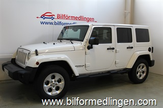 Jeep Wrangler Unlimited 3.6 284Hk Hardtop/Softtop, Sahara 2014