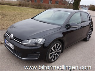 Volkswagen Golf VII 2.0 TDI BlueMotion Technology 5dr 4Motion 150hk Euro 6, Plus, R-line, GT, Highline Plus Navi