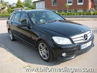 Mercedes-Benz C 200 CDI BlueEfficiency Kombi 136 hk Aut Panoramaglastak Sv-såld 2010