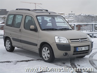 Citroën Berlingo Family II 1.6i 110hk 2008