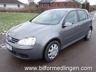 Volkswagen Golf A5 1.6 MultiFuel E85 5dr 102hk Trendline, Masters, Climatic 2008