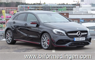 Mercedes-Benz A 45 AMG 4-M 381hk Exclusive Leasbar 2018
