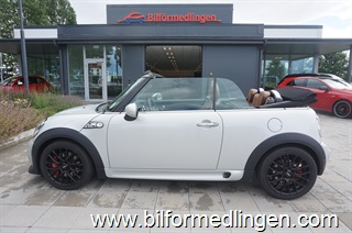 Mini John Cooper Works Roadster 211hk Chili Navi Skinnklädsel