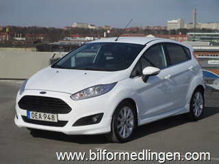 Ford Fiesta 1.0T EcoBoost Automat 100hk 2016