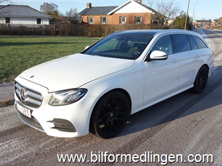 Mercedes-Benz E 220 d Kombi 194hk AMG Sport, Euro6, Head Up, Burmester Surround, Drag Navi Svensksåld Leasbar 2018