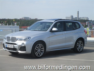 BMW X3 xDrive30d, F25 258hk M Sport, Connected Drive