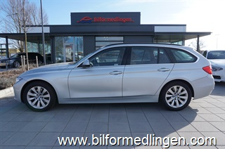 BMW 330 d xDrive Touring, F31 258hk Aut Luxury Line Svensksåld Connected Drive Skinn Navi 2014