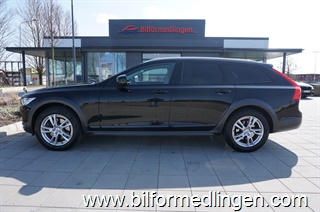 Volvo V90 T5 AWD Aut Cross Country Momentum Plus Momsbil Head Up VOC Navi BLIS Drag Svensksåld 2018