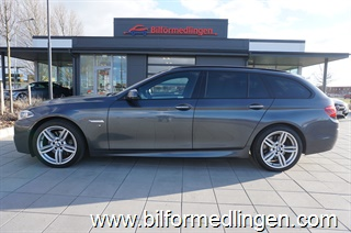 BMW 530 d xDrive Touring, F11 258hk Aut M Sport Head up display Innovation Panorama tak Drag Navi M Aerodynamics Harman/kardon