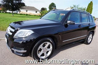 Mercedes-Benz GLK 220 CDI 4MATIC X204 170hk Business Plus Aut Navi Skinn Sv-Såld 2015