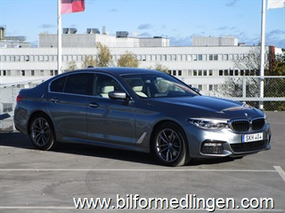 BMW 520 d xDrive Sedan M-Sport Connected Drive Svensksåld 2018